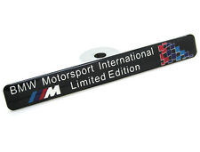 Emblema BMW M Limited (e31,e34,e46,e90,e92,e57,e87,e39,320,318,x3,x5) badge