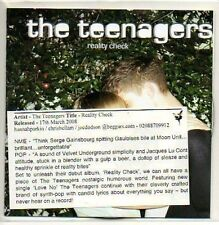 (M324) The Teenagers, Reality Check - DJ CD