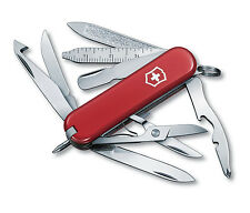 NEW VICTORINOX SWISS ARMY POCKET KNIFE MINICHAMP RED BOXED 53973