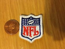 "NFL SHIELD LOGO PATCH, SEW-ON 1 1/4"" BY 1 1/8"""