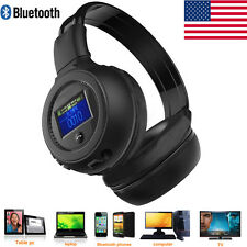 3.0 Stereo Bluetooth Wireless Headset/Headphones With Call Mic/Microphone F