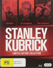 Stanley Kubrick Blu-Ray Collection - 3 DISC SET (2016, REGION ALL Blu-ray New)