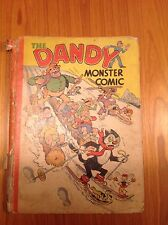 1945 Dandy monster comic annual