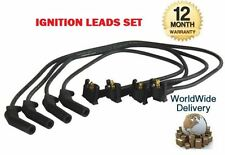 FOR FORD FIESTA + MAZDA 121 1.3 1995-  NEW IGNITION SPARK PLUG LEADS SET