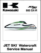 Kawasaki 800 SX-R Jet Ski Service Repair Manual CD  -  JetSki 800SXR 800SX