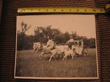 1950's White Horse Ranch Team Coach Driver Hudson Thompson Original Photo