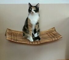 Wall Mounted Large Curvy Cat Perch ( Buy two and get one free)