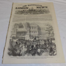 7/13/1867 Issue ILLUSTRATED LONDON NEWS/Vera Cruz, Mexico/Emperor Napoleon/Opera