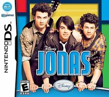 Nintendo DS Jonas Video Game disney band perform explore clothes CARTRIDGE ONLY