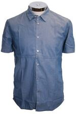Paul Smith Jeans Shirt Blue Size L RRP £105 Box4003 B