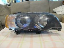 2001 2002 2003 BMW X5 PASSENGER RIGHT SIDE XENON HEADLIGHT OEM