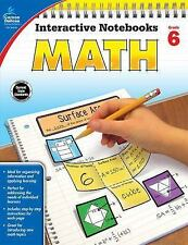 Interactive Notebooks: Math, Grade 6 by Kathryn Kee Daughtrey (2016, Paperback)