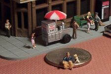 HOTDOG VENDING CART N Scale Really Neat!