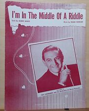 I'm In The Middle of A Riddle - 1948 sheet music - Guy Lombardo photo cover