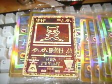 ***ANCIENT MEW***  bonus Entei PROMO CARDS REV. HOLO ***both sealed***