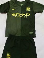 Manchester City football kit size 2-3 years