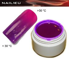 UV Thermogel 20 Dunkelviolett - pink 5ml/ Nagelgel Colorgel Thermo-Gel Farbgel