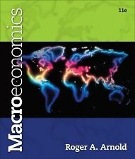 Macroeconomics by Roger A. Arnold (2013, Paperback)