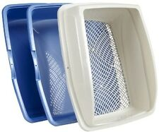 Litter Boxes Pet Sifting Cat Pan Durable Animal Home Indoor Made In Usa