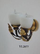Heidi Ott Dollhouse Miniature Light 1:12 Scale Wall Lamp #YL2077