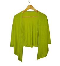 NEW! TIA WOMEN'S KNIT COVER-UP/ CARDIGAN (AVOCADO GREEN, FREE SIZE)