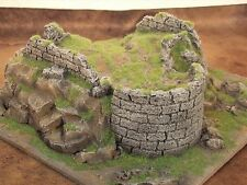 warhammer,  Lord of  the Rings, etc terrain scenery ruined castle