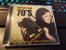 Radio Hits From 70's-Various Artists (KM International Import CD) Factory Sealed