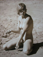 VINTAGE PHOTO EROTIC NUDE NU AKT FOTO  GRAND FORMAT FKK STEVE MILLS SIGNED