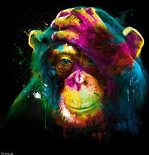 """bstract hand-painted Art Oil Painting Wall Decor canvas """"Gorilla"""" No Frame"""