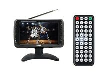 "Naxa NT-70 7"" Rechargeable TV with USB/SD Port/Headphone Jack/Built-In Speakers"