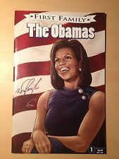 BlueWater Comics First family The Obamas Signed by letterer Wison Ramos NM-M