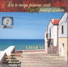 LIBAR VI Sounds of Dalmatia CD Da te mogu pismom zvati Split Kroatien Croatia