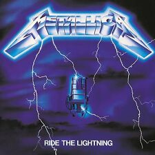 METALLICA RIDE THE LIGHTNING CD ALBUM (Remastered) (Released April 15th 2016)