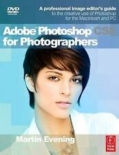 Adobe Photoshop CS5 for Photographers: BOOK not paperback