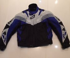 Used Spyke Textile Lined Motorcycle Jacket With Protectors Sixe XXS