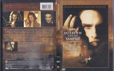 DVD:  INTERVIEW WITH THE VAMPIRE......TOM CRUISE-BRAD PITT-ANTONIO BANDERAS
