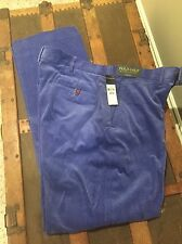 NWT POLO RALPH LAUREN GOLF Mens CORDUROY Pants Size 36 X 32 Retail $98