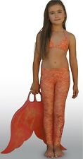 Mahina Mermaid, Mahina  Swimwear, Coral Merswim Set Age 10. Bikini Leggings