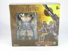 Transformers Warbotron WB01C Sly Strike (Swindle) Complete Bruticus
