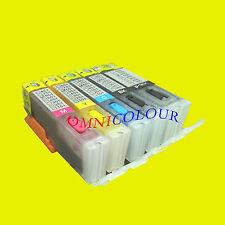 5 refillable compatible cartridge for ARC Canon PGI-650 CLI-651 PGI- 550 CLI-551