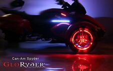Can Am Spyder Remote Control Wheel Lights Fits 2 Wheels by GloRyder Glo Ryder