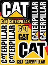 Caterpillar Cat Vinyl Decal Sheet 8.5 X 11.5 Emblem Logo Equipment Sticker 1A