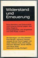 Otto Kopp (Hrsg.) - Widerstand und Erneuerung