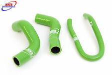 KAWASAKI ER6 F/N 2006-2015 HIGH PERFORMANCE SILICONE RADIATOR HOSES GREEN