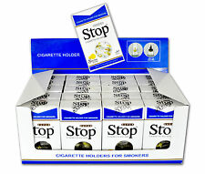 New Improved Super Stop 8-hole Cigarette Holder 20 pack 600 Filters + FREE packs