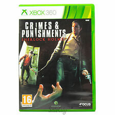Crimes and Punishments: Sherlock Holmes (Xbox 360) Rare Adventure Game Complete