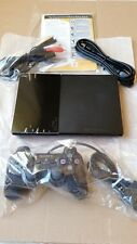 Sony PlayStation 2 Slim Charcoal Black Console (SCPH-90001CB)