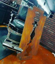 Antique Barber Shop Sign RUSTY RAZOR Vintage Look.  46 inches!!
