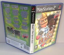 PS2 Buzz : The Sports Quiz * CIB * Playstation 2 PAL 2