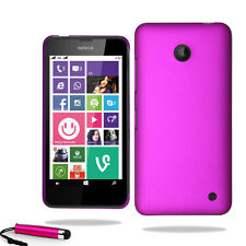 For Nokia Lumia 630 Armour Hard Shell Case Cover + Screen Protector + Stylus